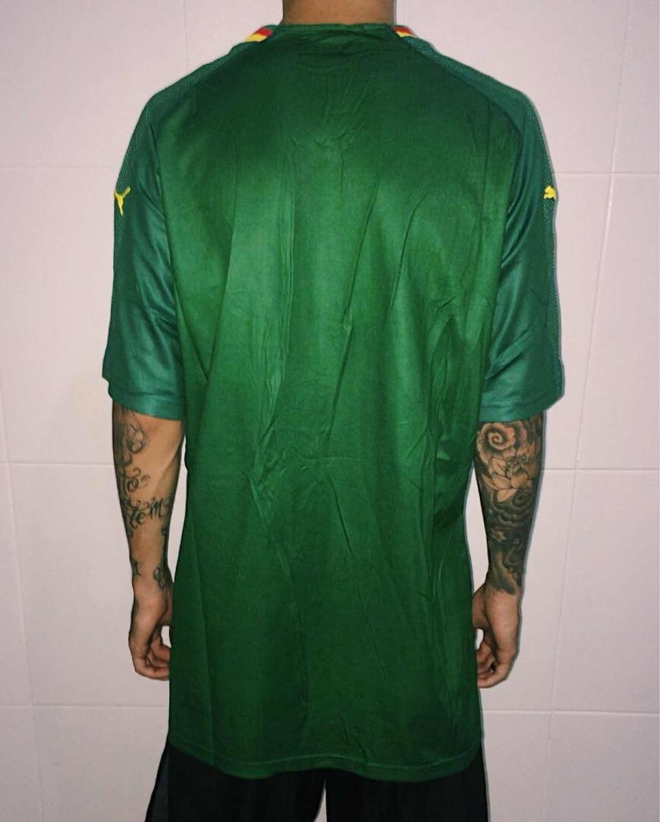 camisa seleção camarões verde nova oficial puma copa 2018. Carregando zoom...  camisa seleção camarões. Carregando zoom. 98ebdd7c0a0e3