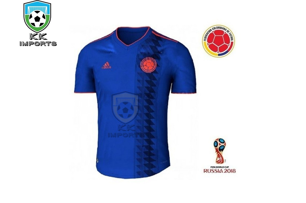 4d3a6c8278 camisa seleção colombia 2017 2018 uniforme 2 sob encomenda. Carregando zoom.