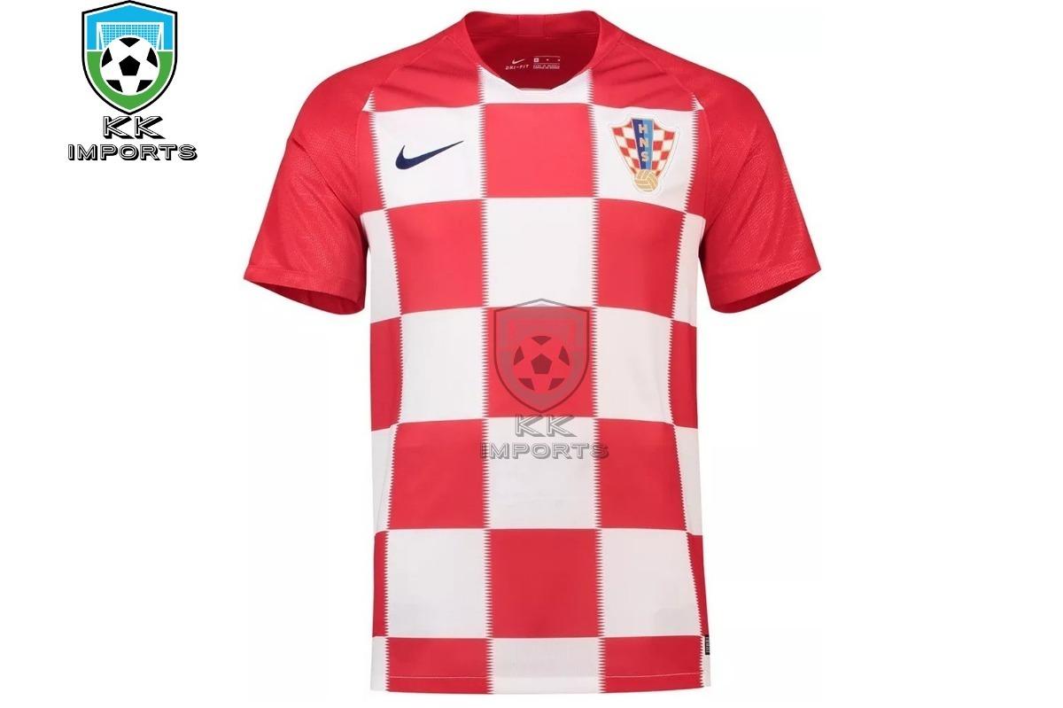 1ca6de2fc camisa seleção croacia 2018 uniforme 1 sob encomenda. Carregando zoom.