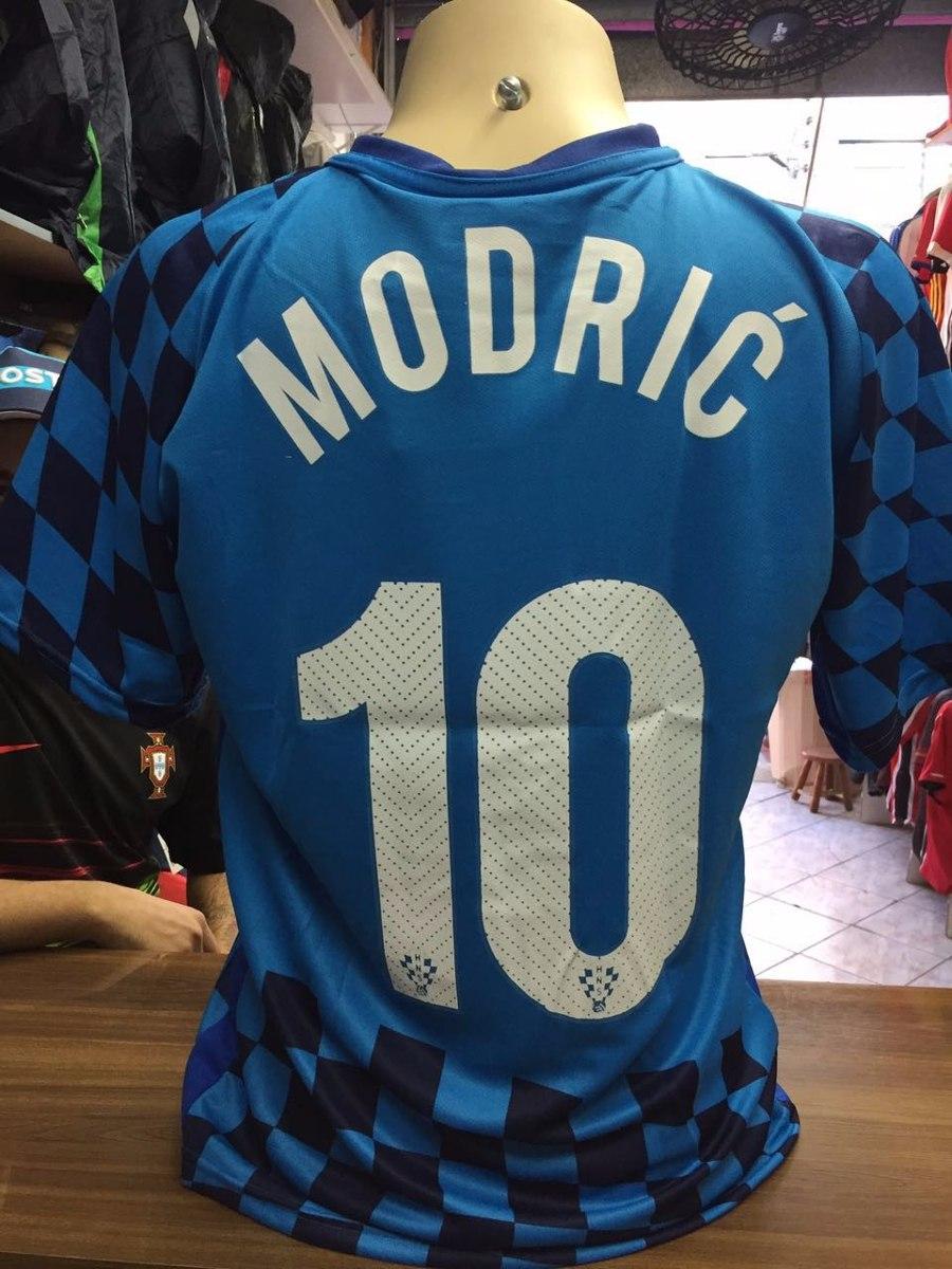 Camisa Seleção Da Croácia 2016-2018 - R  74 3edcad08e636e