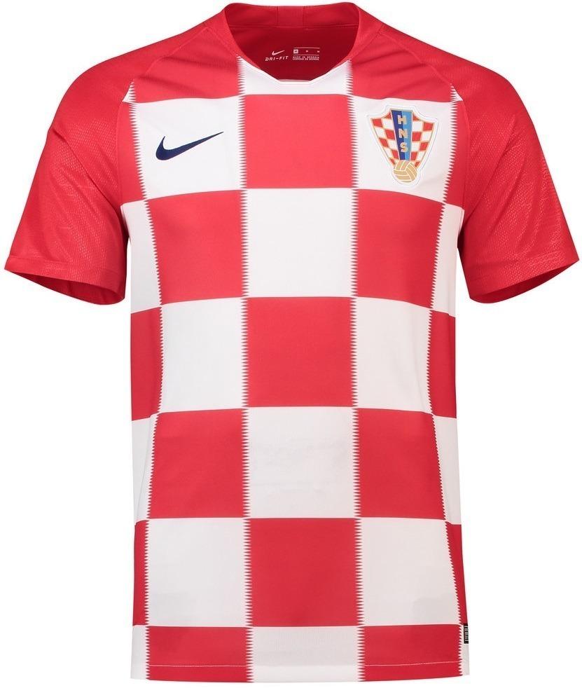 f20e58e71 Camisa Seleção Croácia Copa 2018 - Uniforme 1 - Frete Grátis - R ...