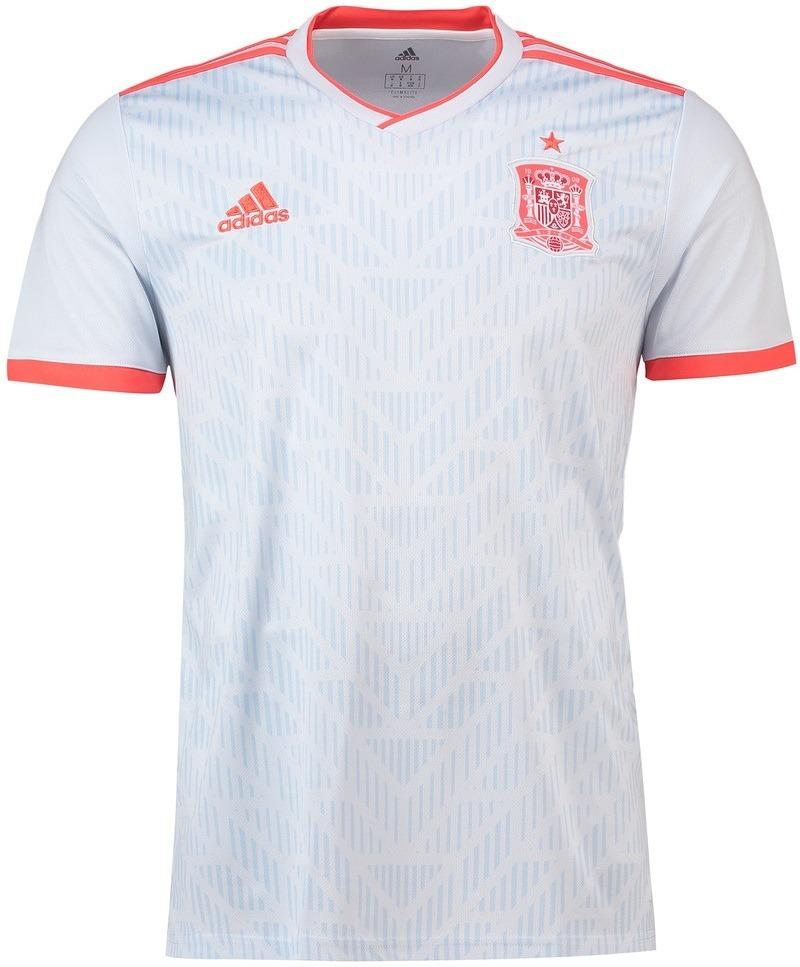 3ca0ebd1fe Camisa Seleção Da Espanha - Uniforme 2 - 2018 - Frete Grátis - R ...