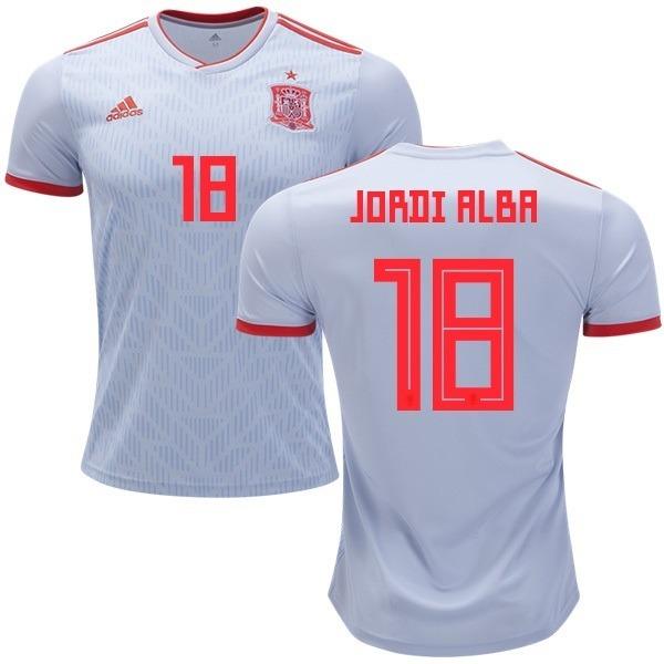 Camisa Seleção Da Espanha - Uniforme 2 - 2018 - Frete Grátis - R ... fa383b135739f