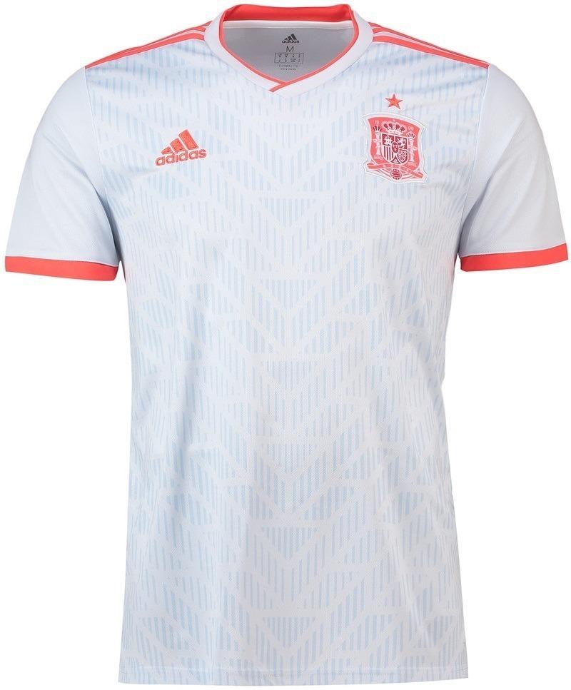 Camisa Seleção Da Espanha Uniforme 2 2018 2019 Frete Grátis - R  120 ... 3f343c19cd054