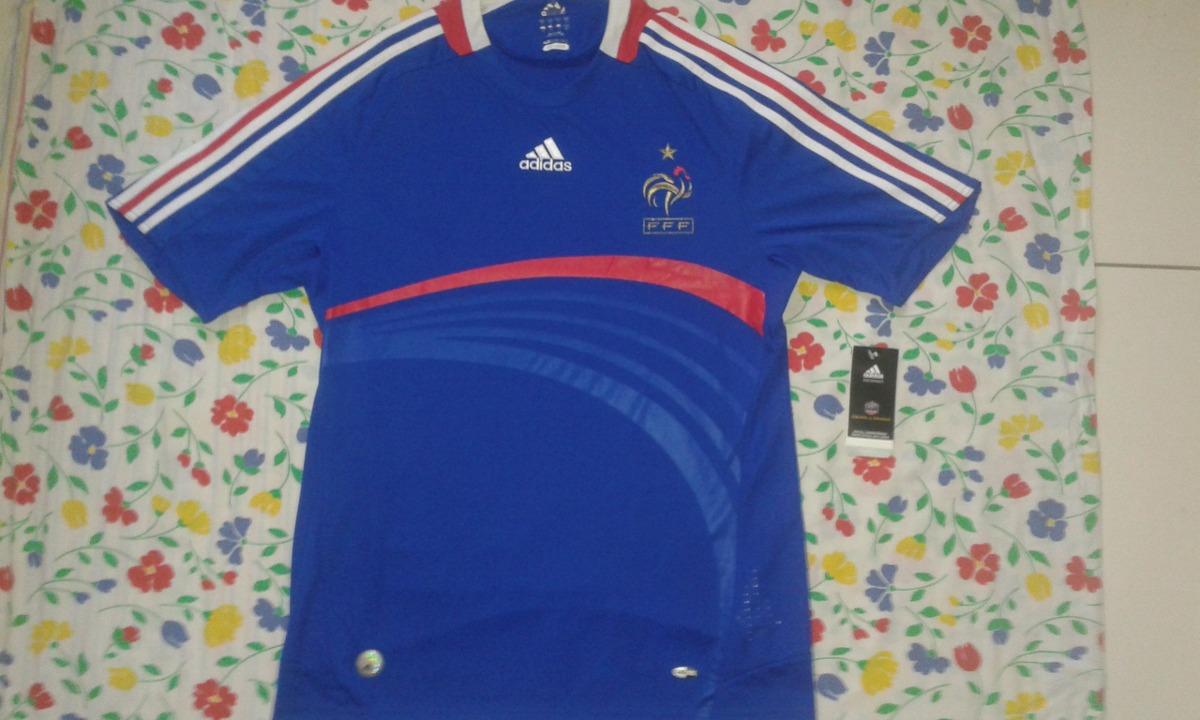 camisa seleção da frança euro 2008   m liquidação. Carregando zoom. df16c47dd12d5