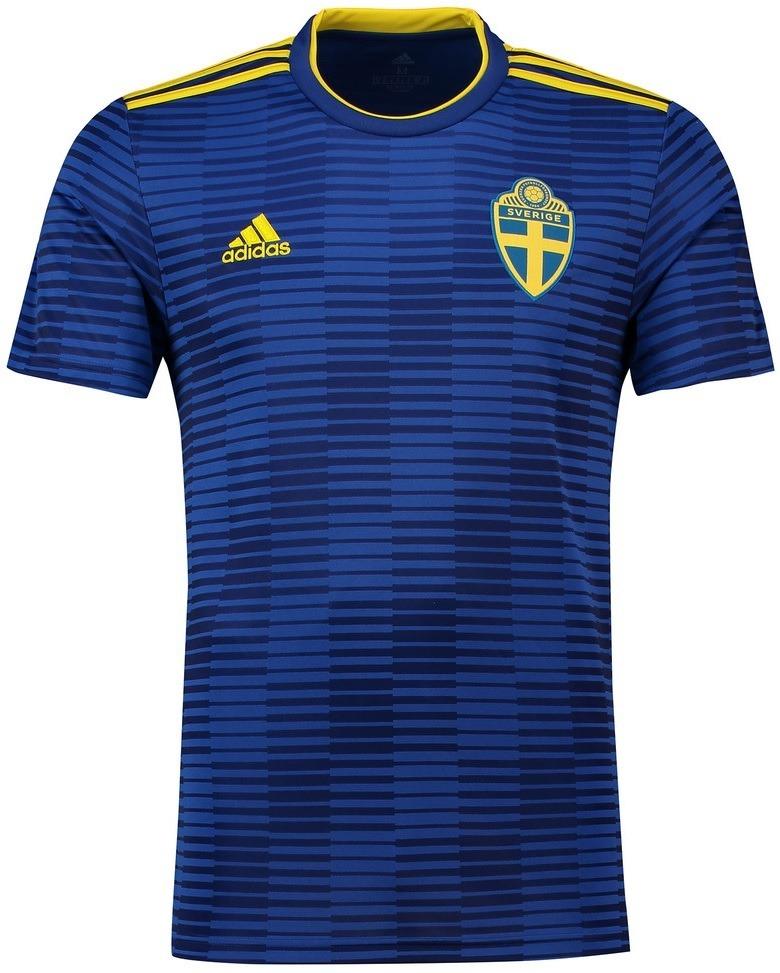 camisa seleção da suécia - uniforme 2 - 2018 - frete grátis. Carregando zoom . 3f90c990c43cf
