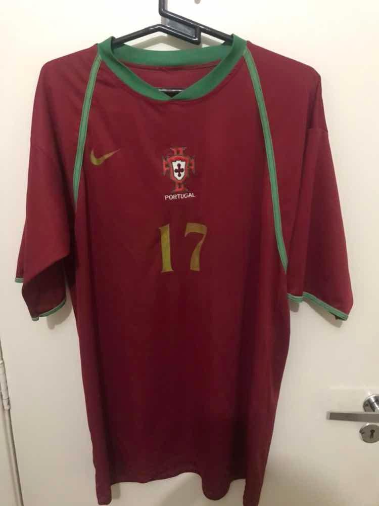 camisa seleção de portugal 2006. Carregando zoom. f928b1cf4daaa