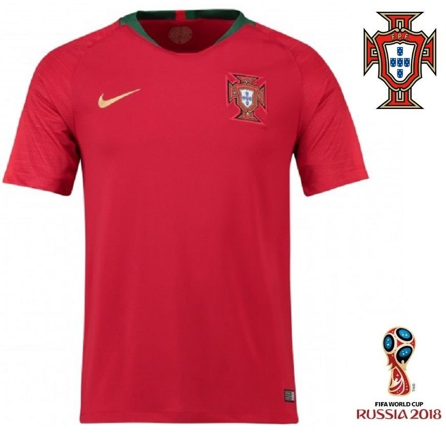 camisa seleção de portugal adulto oficial copa 2018. Carregando zoom. 05b876d685a0d