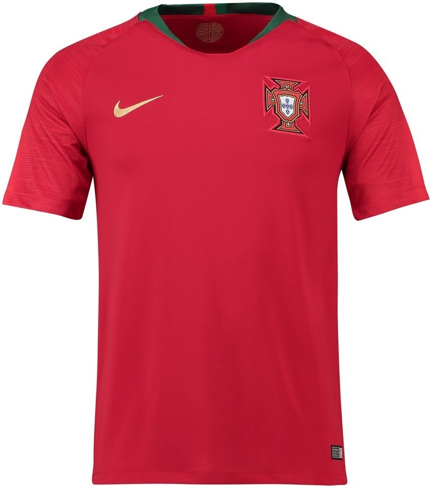 6438d379a6 Camisa Seleção De Portugal - Unif. 1 - 2018 - Frete Grátis - R  125 ...