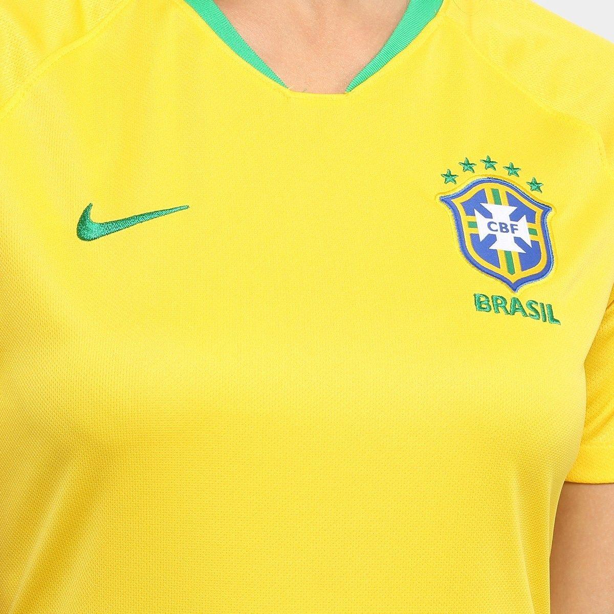 6a0c997c5f camisa seleção do brasil i 2018 torcedor nike feminina. Carregando zoom.