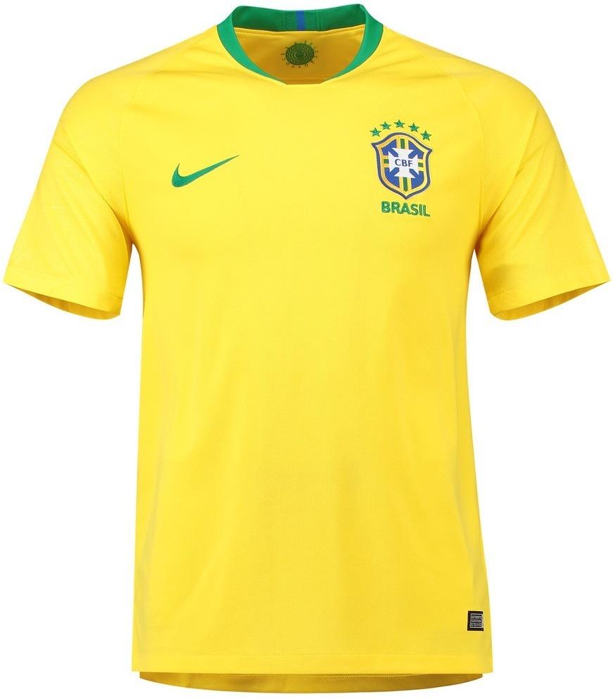 ce56ad6fec camisa seleção do brasil - uniforme 1 - 2018 - frete grátis. Carregando  zoom.