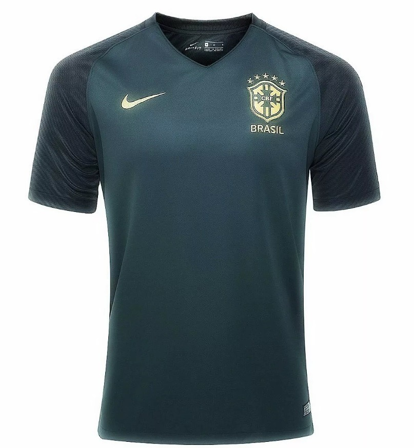 camisa seleção do brasil - uniforme 3 - 2018 - frete grátis. Carregando  zoom. 4bc9fde9b24f2