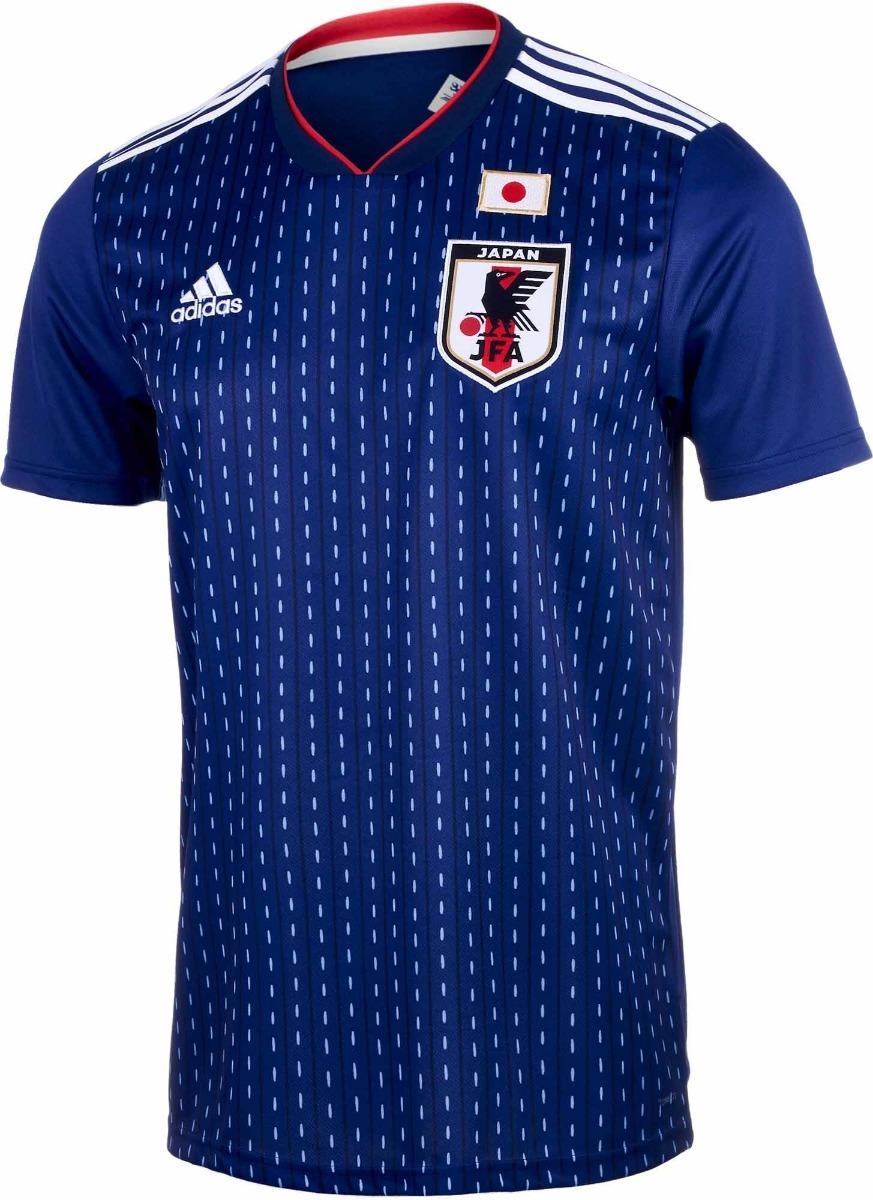 camisa seleção do japão - uniforme 1 - 2018 - frete grátis. Carregando zoom. 15eeb010a0691