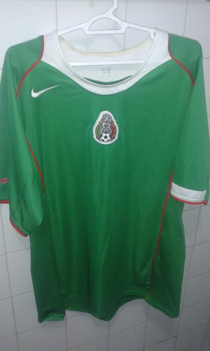 camisa seleção do méxico 2004 2005   g. Carregando zoom. 4b2a6ccc4c306