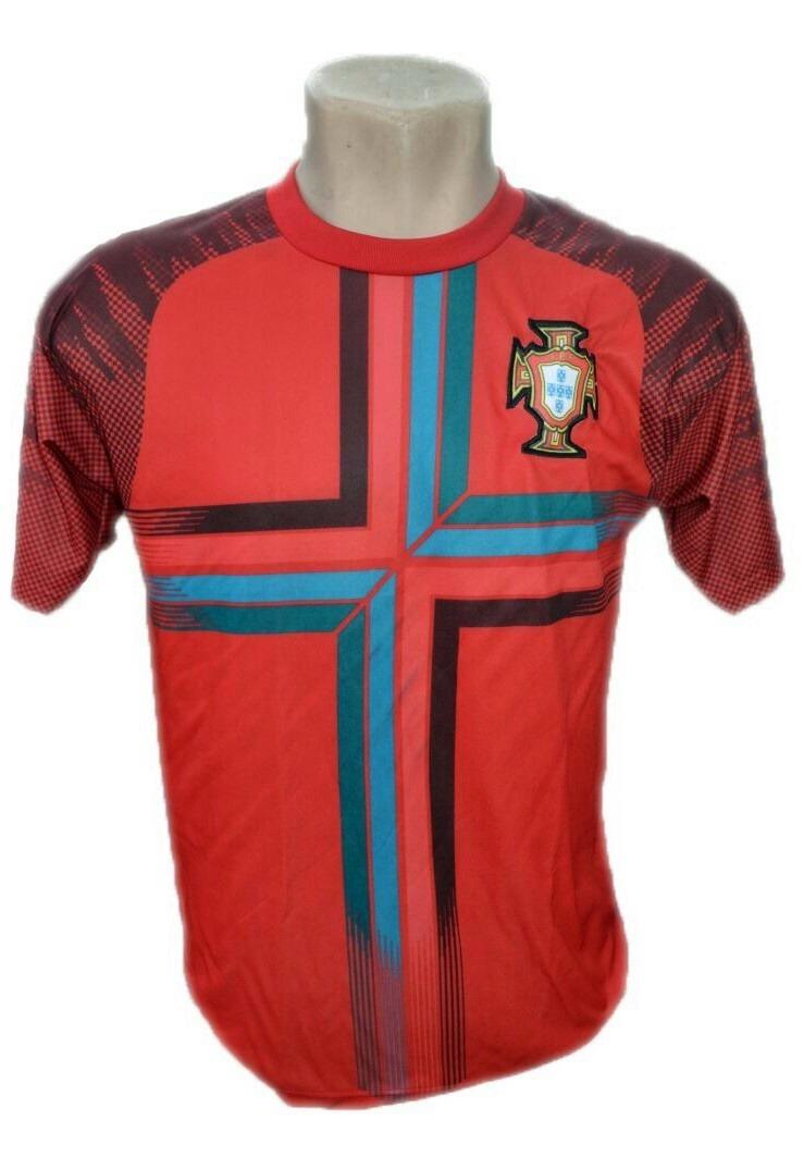 camisa seleção do portugal bordado barato copa do mundo 2018. Carregando  zoom. 3b4fc51f845be