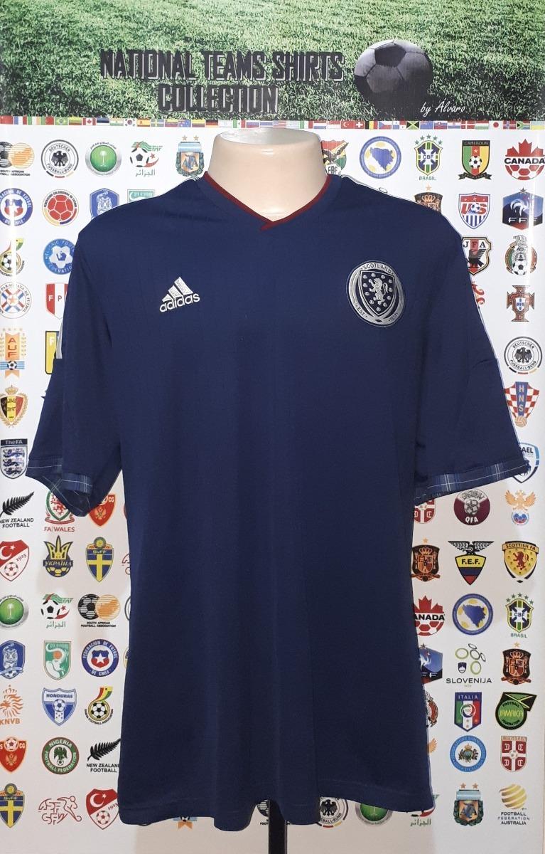 8ca9bb5da0 Camisa Seleção Escócia 2014 Home adidas Tam Ggg Xxl Rara - R  169
