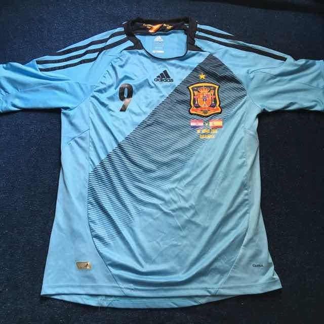 Camisa Seleção Espanha 2012 - Eurocopa - adidas - R  229 35ff183bcec07