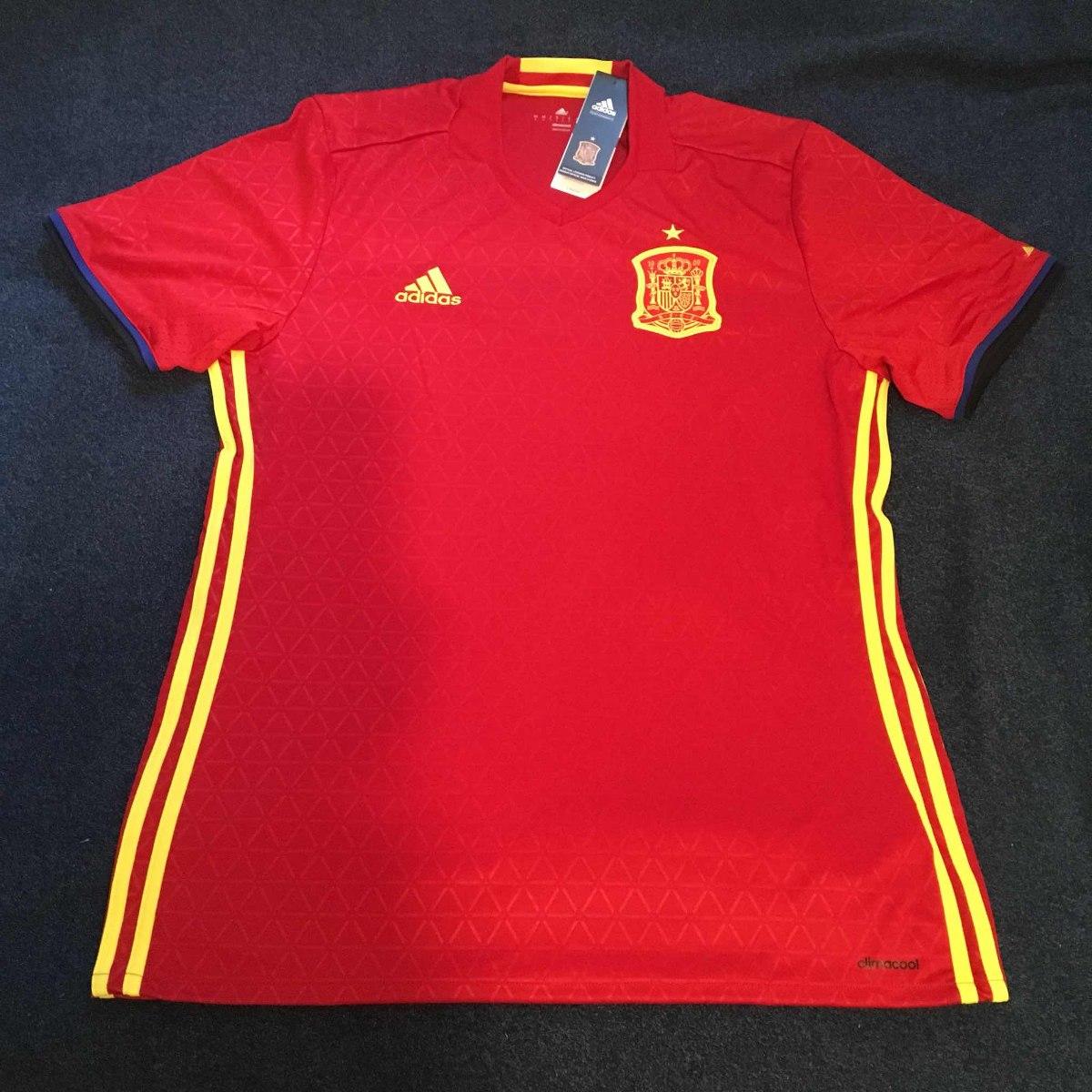 camisa seleção espanha 2016. Carregando zoom. 8eb69191ced75
