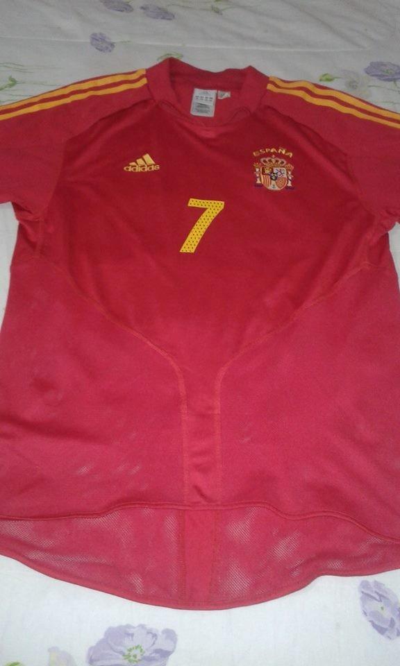 fe24355bd5 Camisa Seleção Espanha Home 2004   7 Raul M - R  169