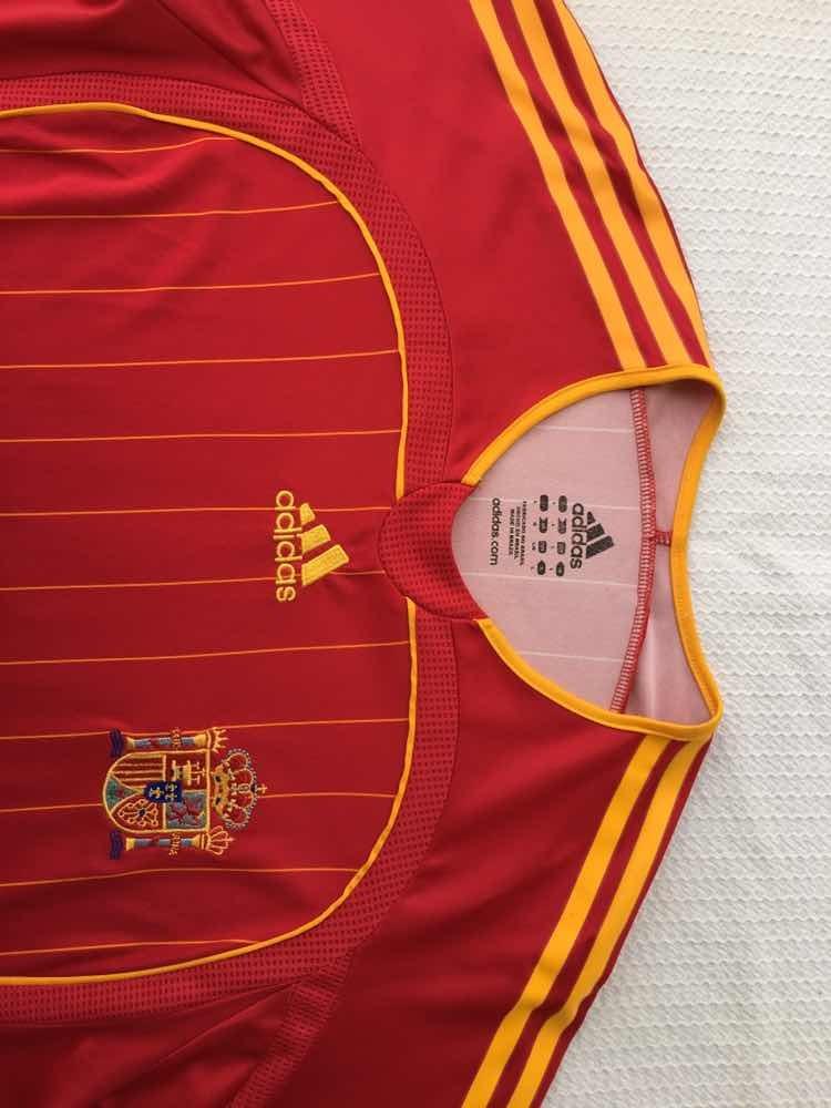 b3d9d222f2 Carregando zoom... seleção espanha camisa. Carregando zoom... camisa  seleção espanha original adidas vermelha tamanho g