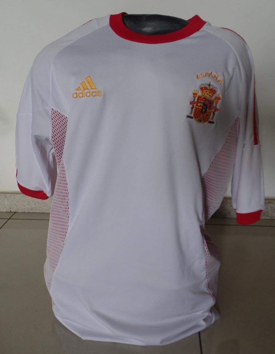 a5ece006e7 camisa seleção espanha - adidas - copa 2002 - tam g. Carregando zoom.