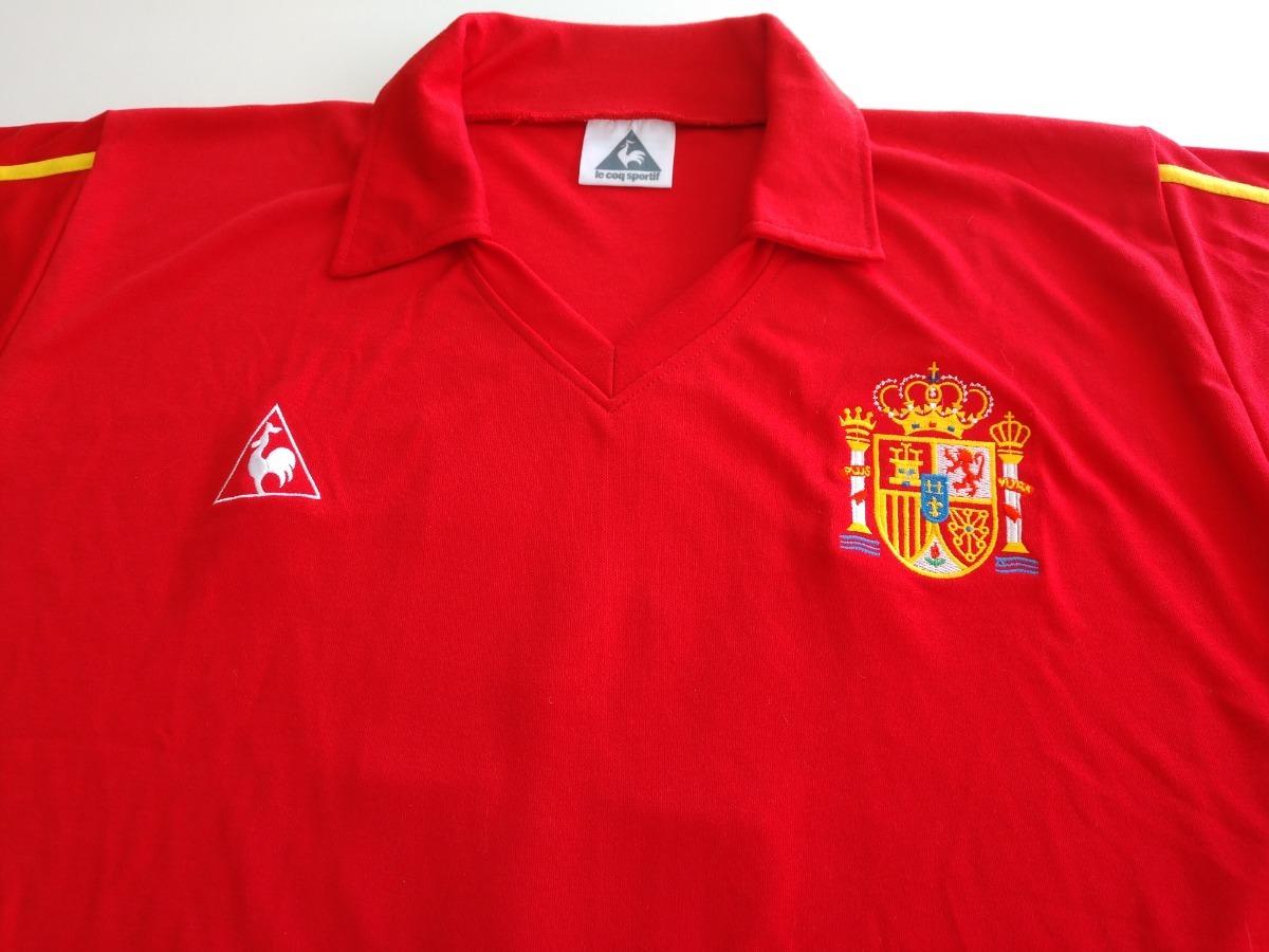 camisa seleção espanha copa 1986 - home. Carregando zoom. f4e516577d41b