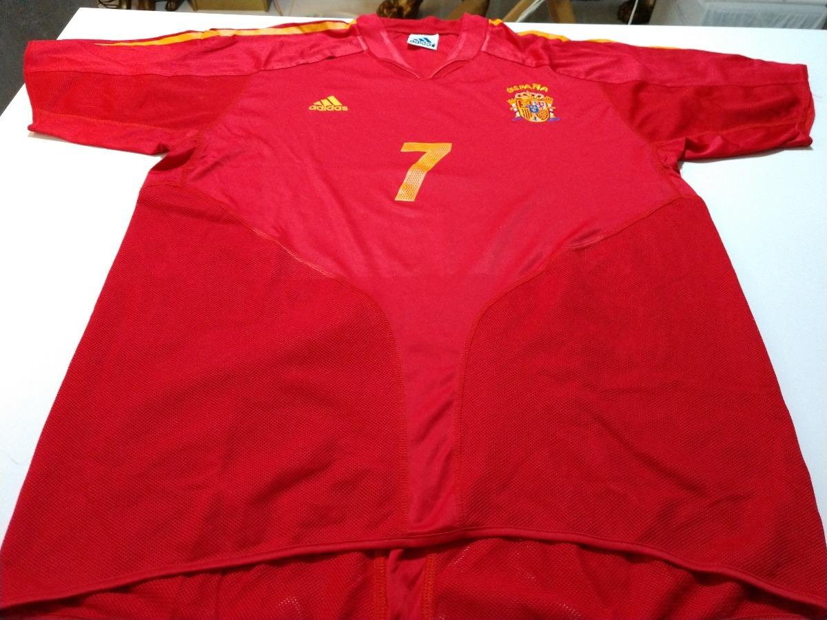 Camisa Seleção Espanha Euro 2004 - Home.... - R  200 5a67e40914041