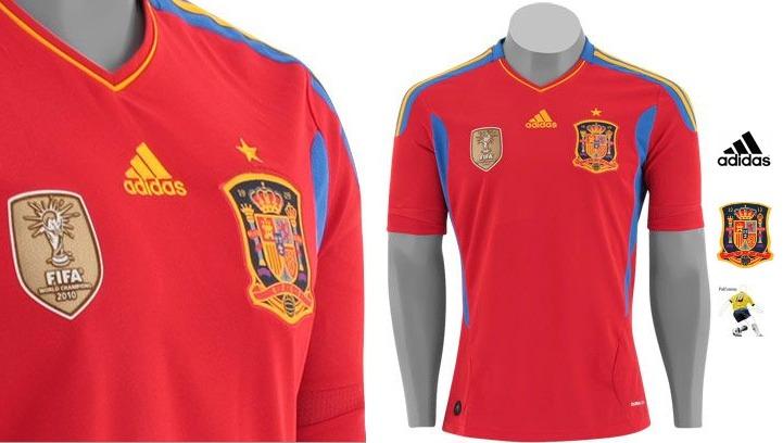 bfda29b033 Camisa Seleção Espanha Oficial adidas 11 12 S n - R  300