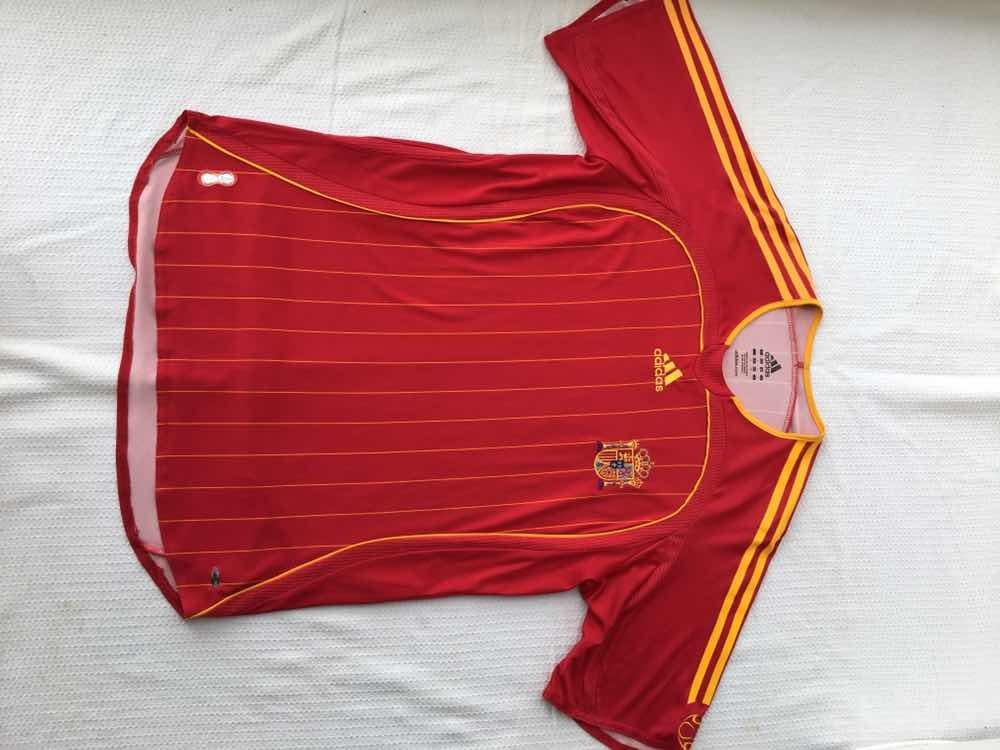 850f98cffe camisa seleção espanha original adidas vermelha tamanho g. Carregando zoom.