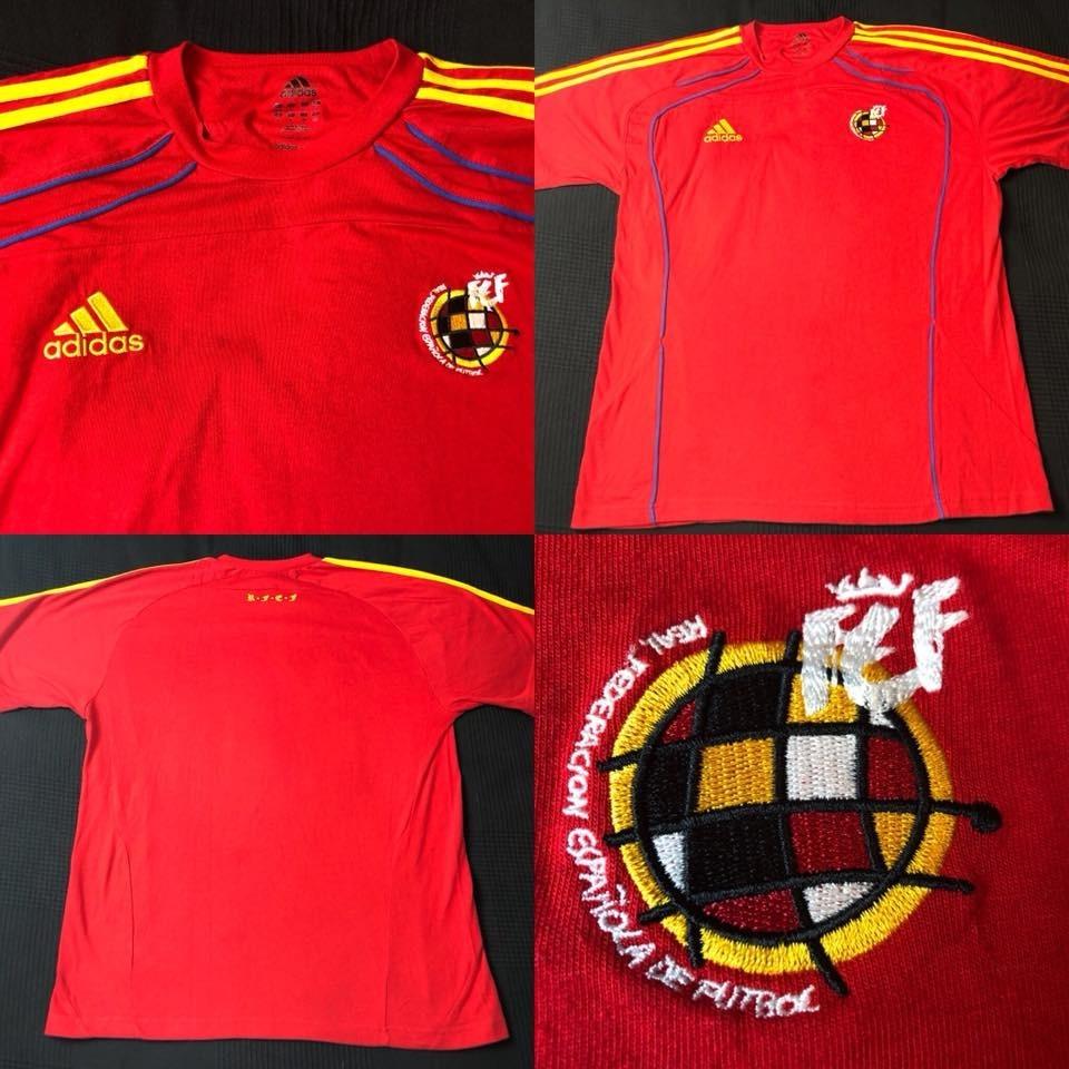 00afb7d607f09 camisa seleção espanha passeio 2010 tam g (75x56) adidas. Carregando zoom.