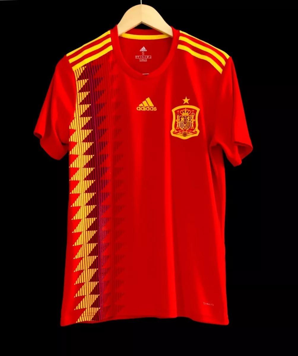 camisa seleção espanhola copa 2018 espanha camiseta. Carregando zoom. 03d7e77136e93