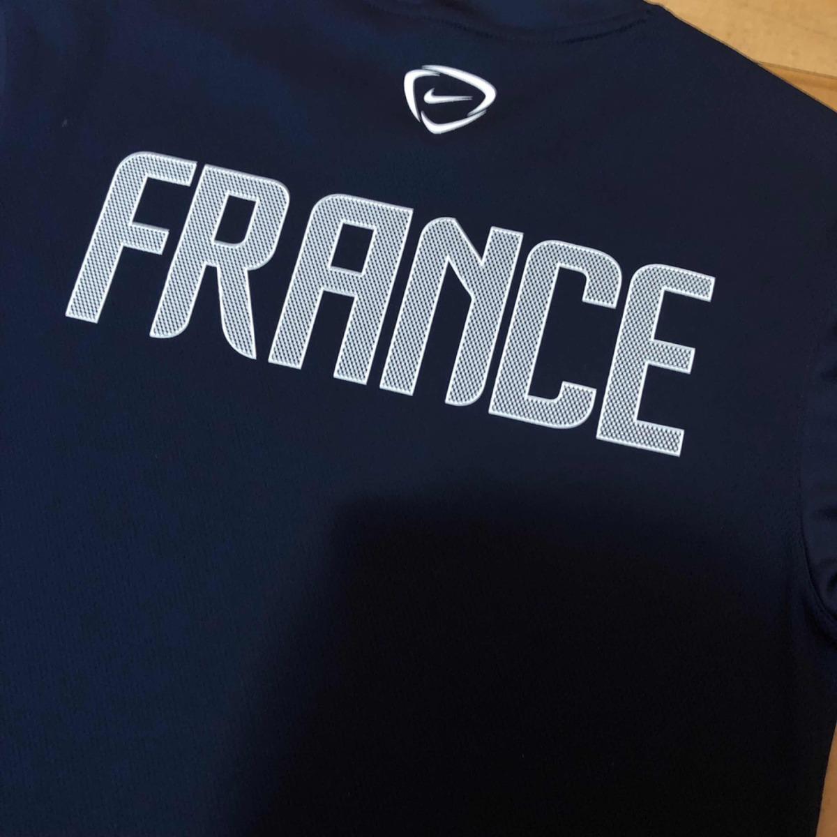 85e895ad75 camisa seleção frança 2010 treino p original nike. Carregando zoom.
