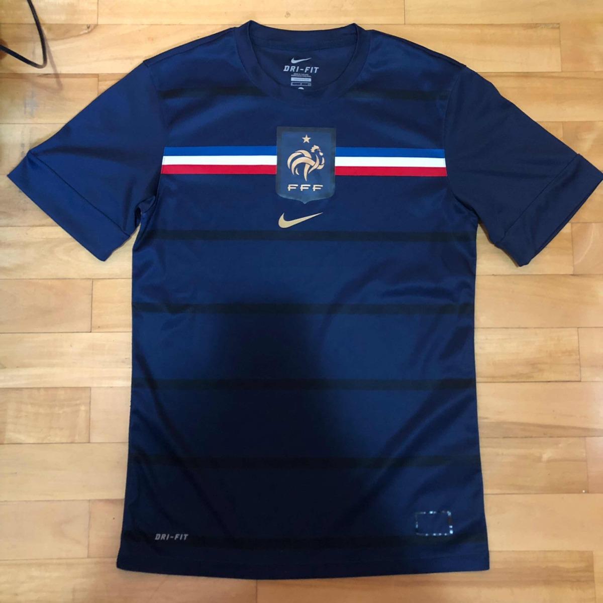 camisa seleção frança 2010 treino p original nike. Carregando zoom. 2dadcf4a60d13