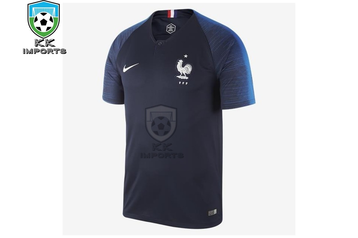 d319c72cc6ced camisa seleção frança 2018 uniforme 1 sob encomenda. Carregando zoom.