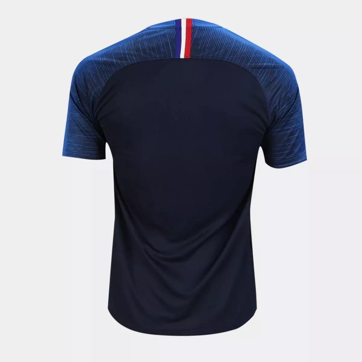 Camisa Seleção França Home Copa Do Mundo 2018 Nike Oferta. - R  59 ... 436dd7139baea