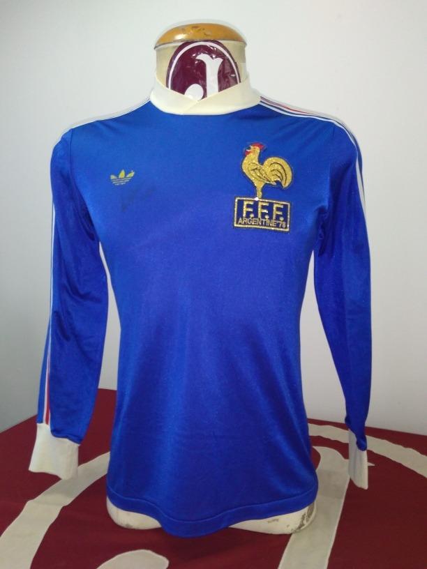 a030315243 camisa seleção frança adidas mundial argentina 78 original. Carregando zoom.