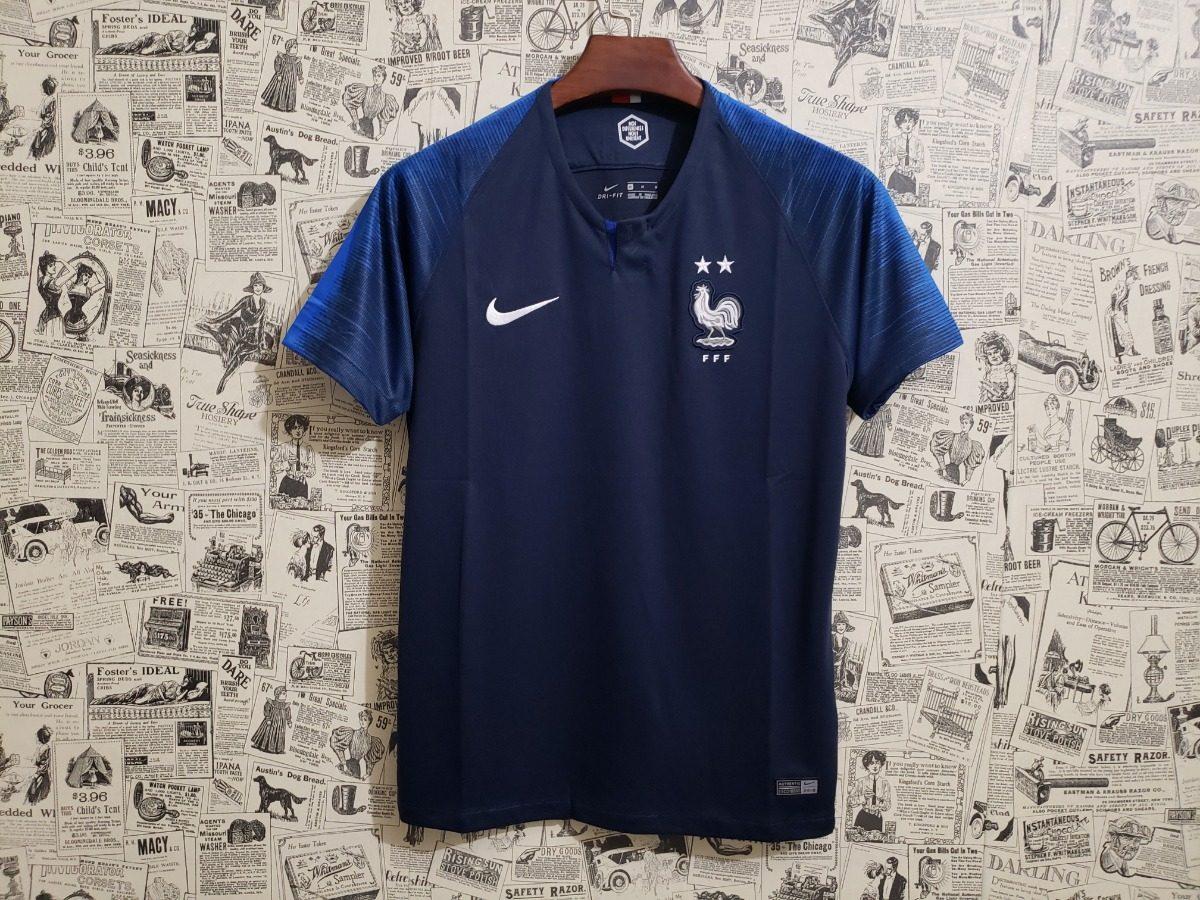 camisa seleção frança titular nike 2018 oficial. Carregando zoom. 425ffd5ca4464