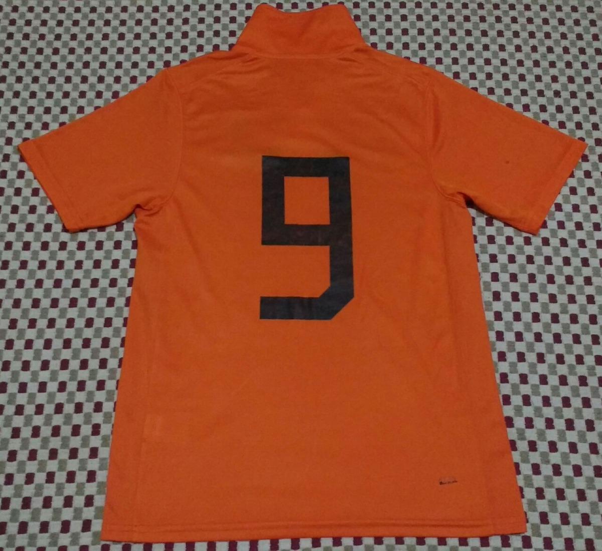 Camisa Seleção Da Holanda 2006-08 - R  80 145a34bb3ed33