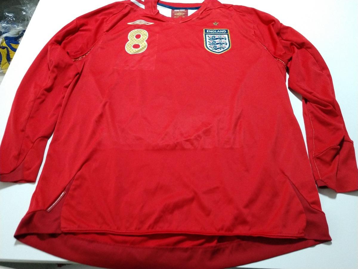 6d9ac5d59e camisa seleção inglaterra copa 2006 - away - lampard xl. Carregando zoom.