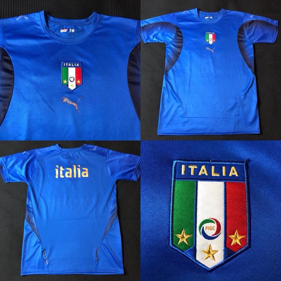 b0cb6d2467 camisa seleção italia 2006-2008 tam p (69x47) bom estado. Carregando zoom.