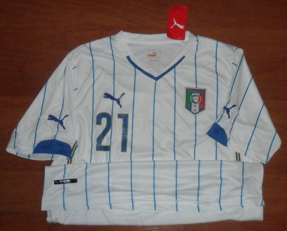 a86b9e9fb47e7 camisa puma seleção itália 2014 tam. g pirlo 21 tamanho g · camisa seleção  itália. Carregando zoom.