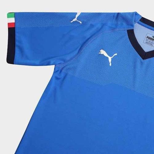 cb11805fc3794 Camisa Seleção Itália - Puma - 2018 - Oficial - R  150