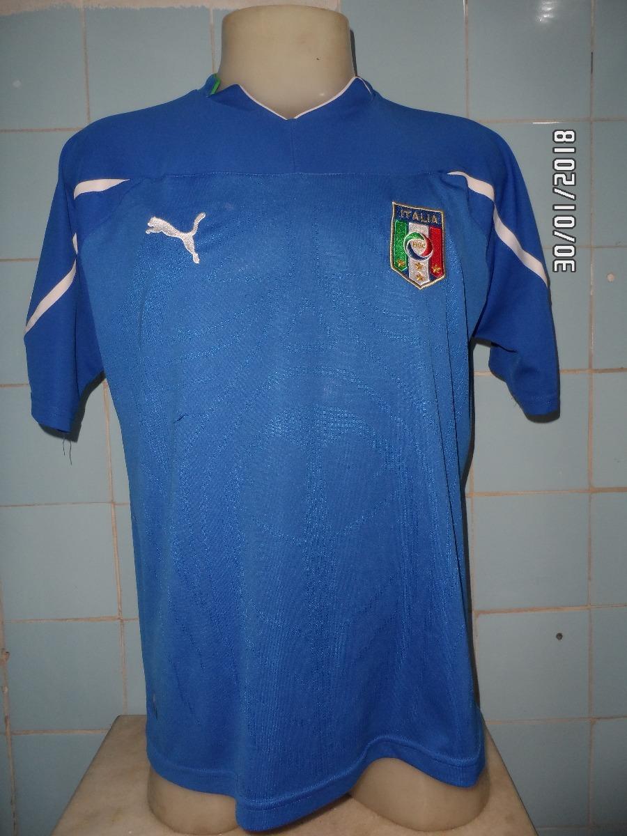 camisa seleção itália puma azul. Carregando zoom. 7de57f3340794