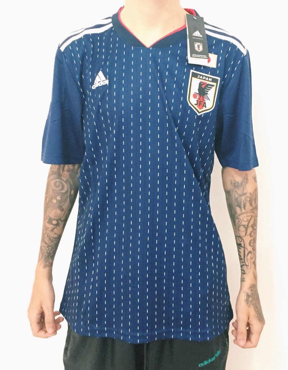 camisa seleção japão azul nova 2018 copa oficial adidas. Carregando zoom. 87ba631df08e5