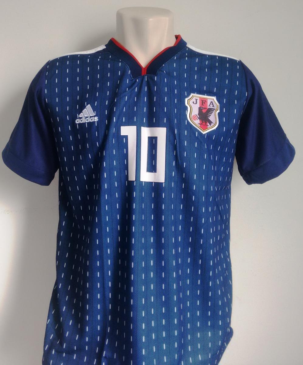 camisa seleção japão home 2018 19 - kagawa 10. Carregando zoom. 885409e0f2f28