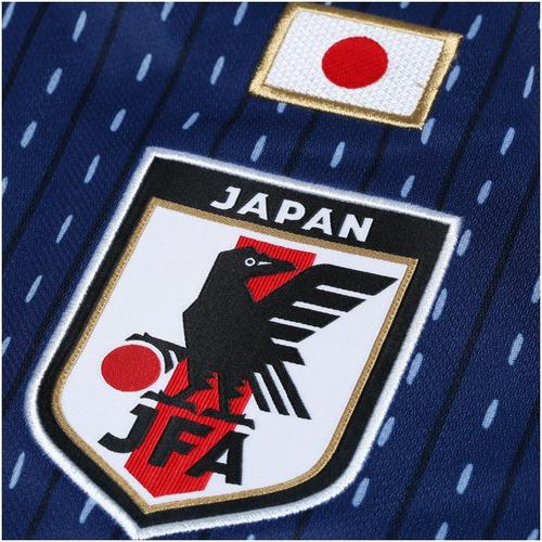 camisa seleção japão home copa 2018 s/n° - original adidas