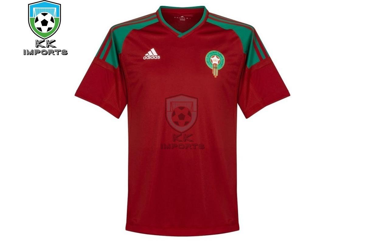 5297e7e4740 camisa seleção marrocos 2018 uniforme 1 sob encomenda. Carregando zoom.