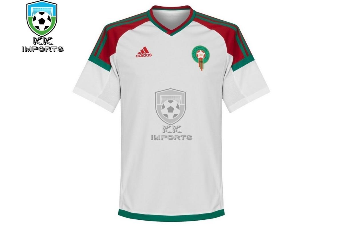 c11a6adbd camisa seleção marrocos 2018 uniforme 2 sob encomenda. Carregando zoom.