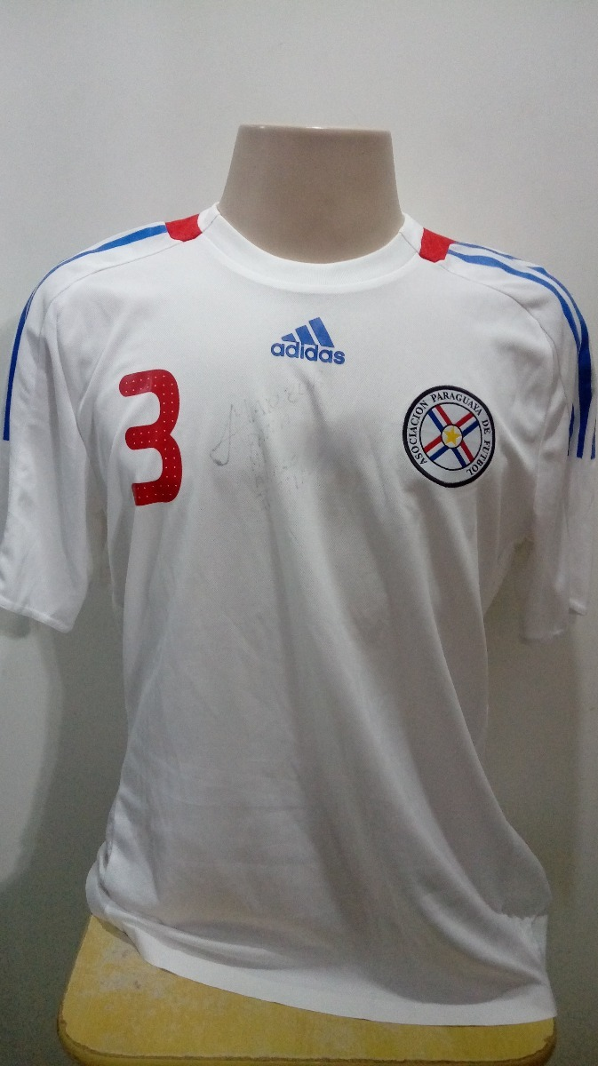 8c5161e3be962 camisa seleção paraguai branca. Carregando zoom.