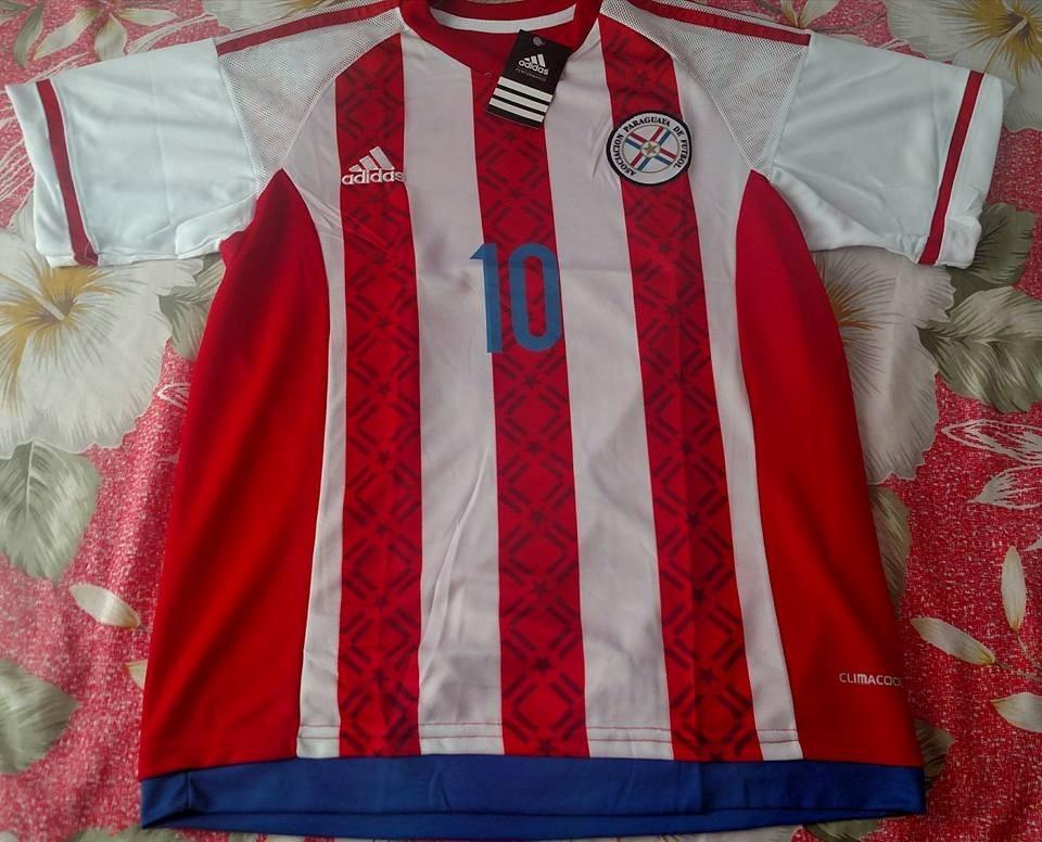 a5432ffcf3b7a camisa seleção paraguai listrada. Carregando zoom.